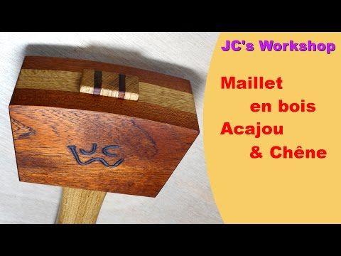 Comment faire un maillet en bois acajou ch ne travail - Maillet en bois ...