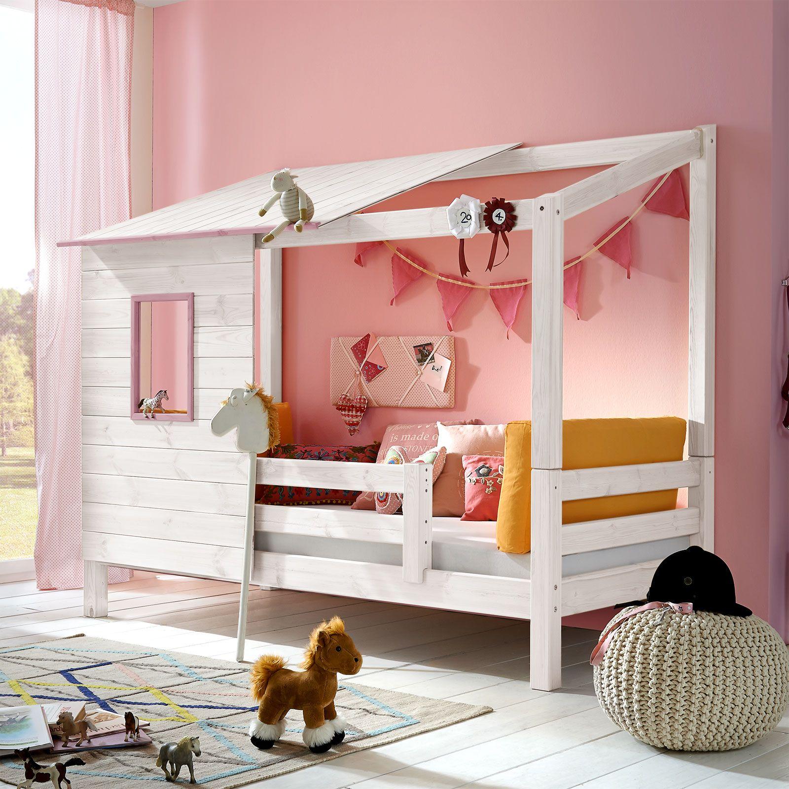 Abenteuerbett Kids Paradise Fur Madchen Kinder Zimmer Abenteuerbett Und Bett Kinderzimmer