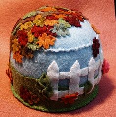 Large falling leaves pincushion by verybigjen on Flickr