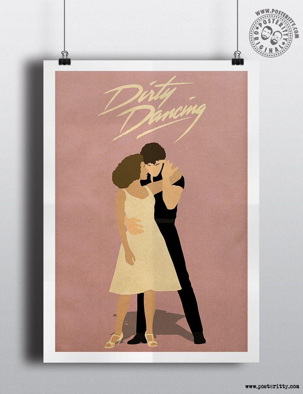 DIRTY DANCING Alternative Minimal Movie Poster