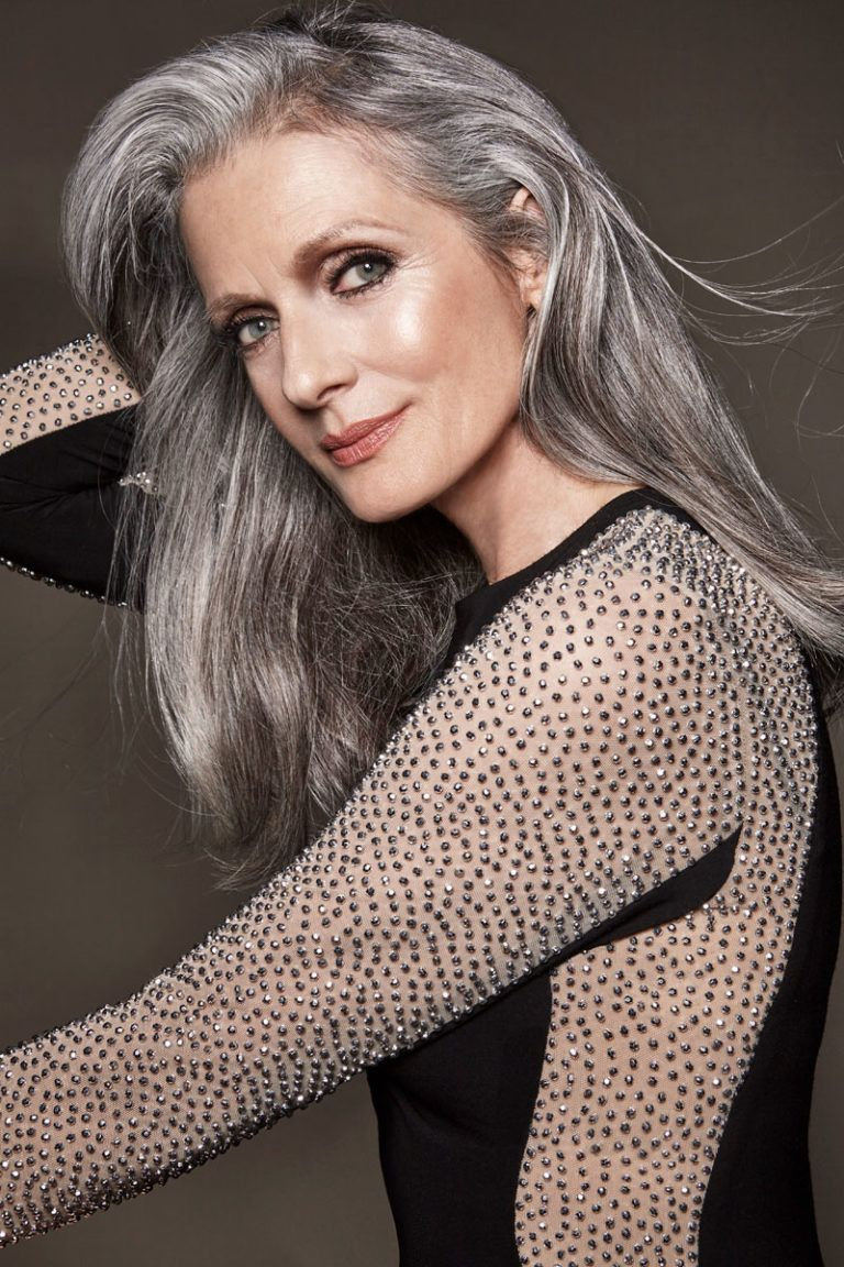 Gray haired beauties videos — photo 8