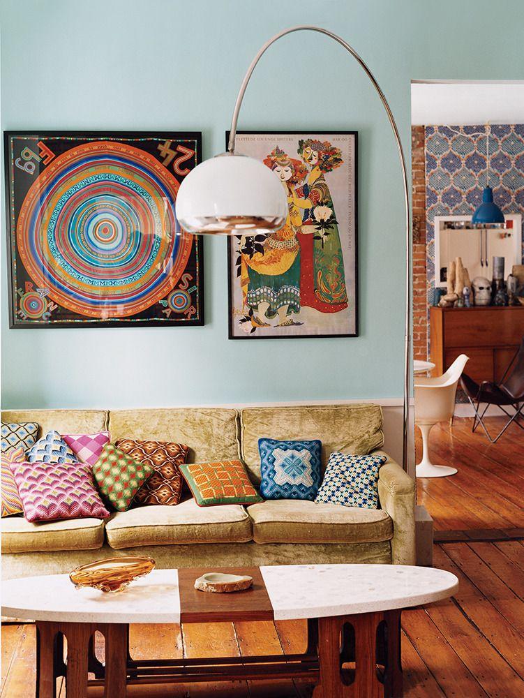 secondhand (love) story Interior design, Living room