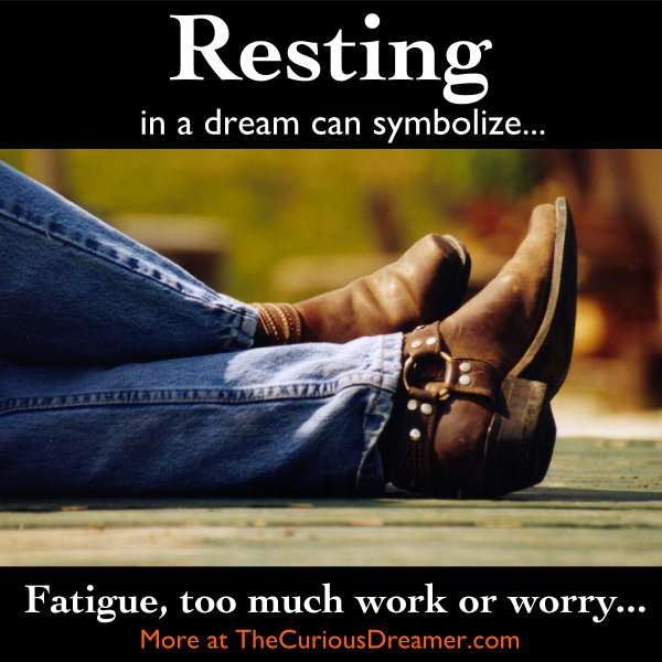 If You Dream You Are Resting You May Feel Like You Need A Physical