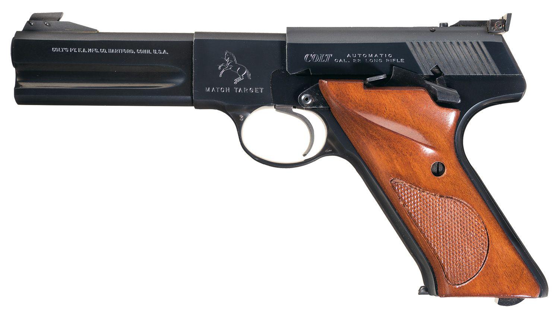 Third Series Colt Woodsman Match Target Semi-Automatic Pistol