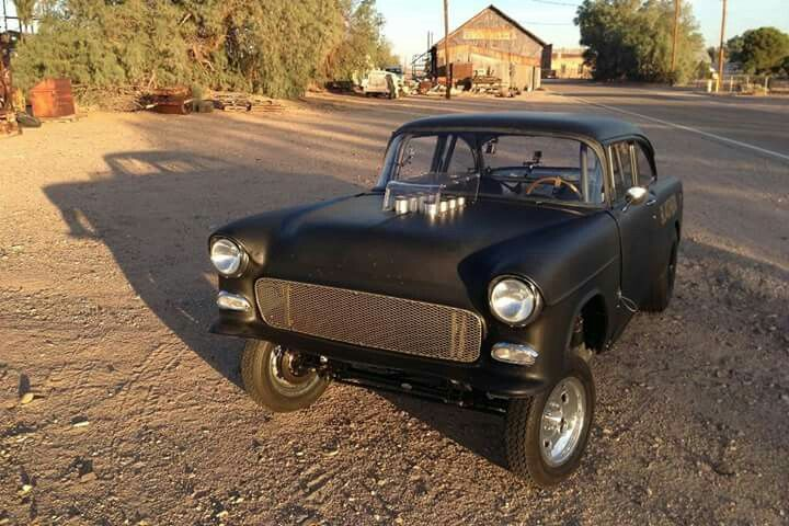 Awesome '55 Chevy Bel Air gasser