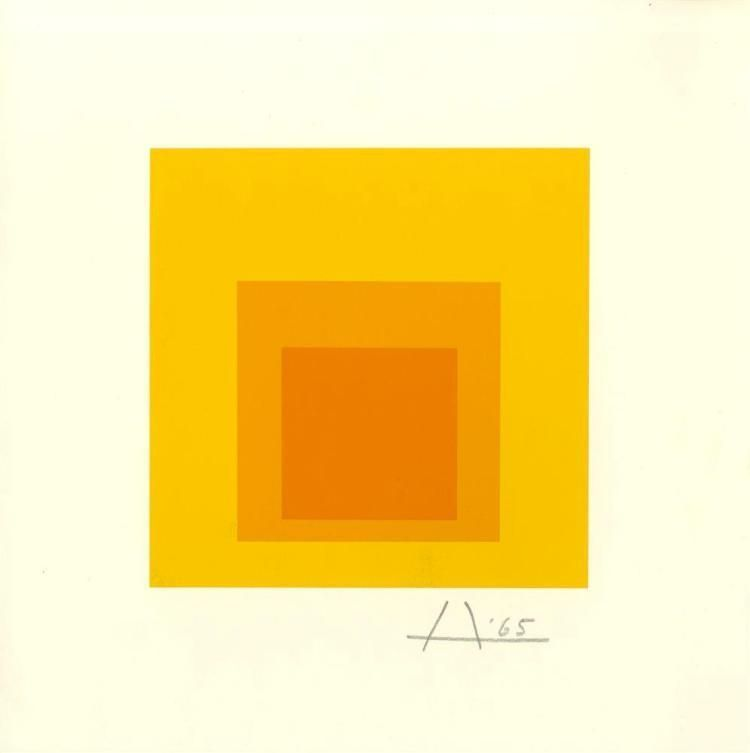 "Josef Albers ""Homage to the Square"" Josef albers, Color"