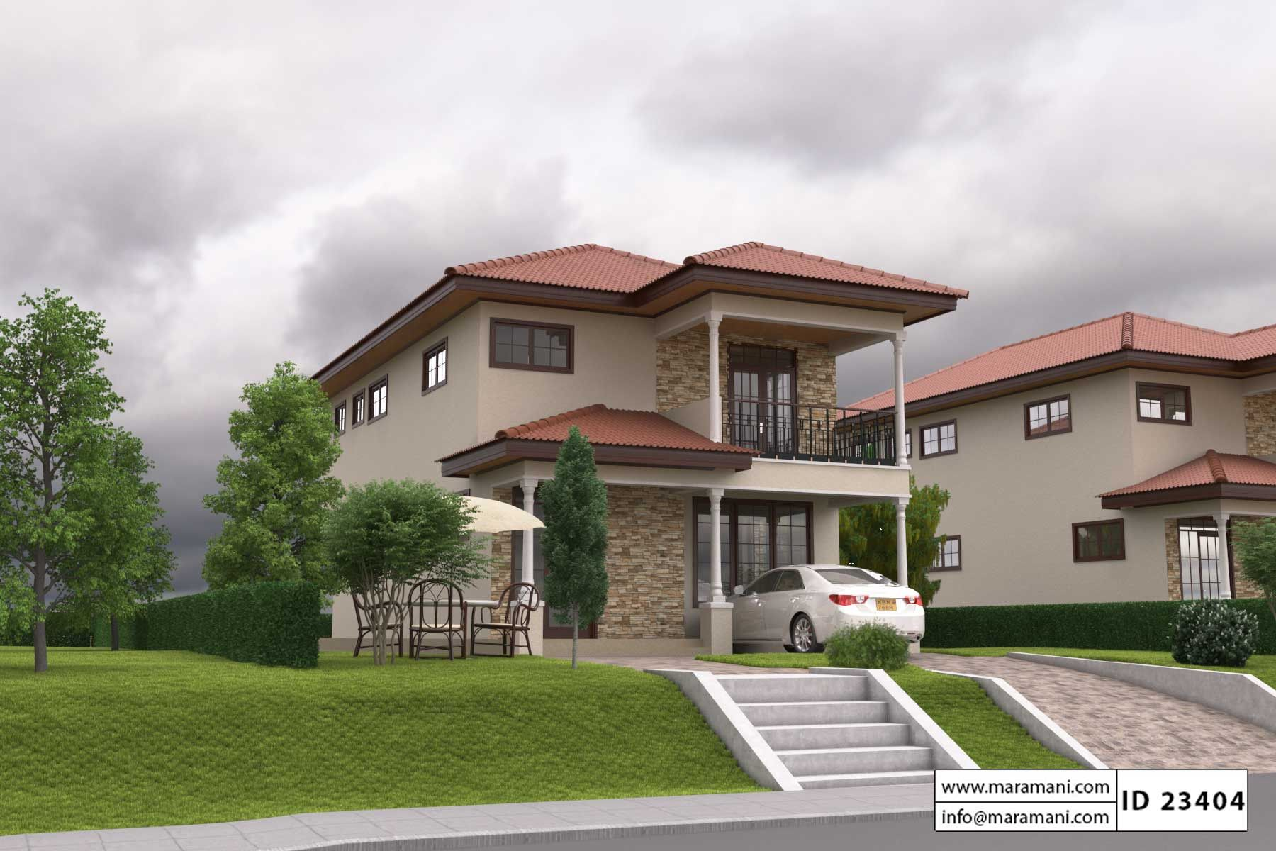 3 Bedroom House Plan Id 23404 Bedroom House Plans Three Bedroom House Plan Wooden House Plans