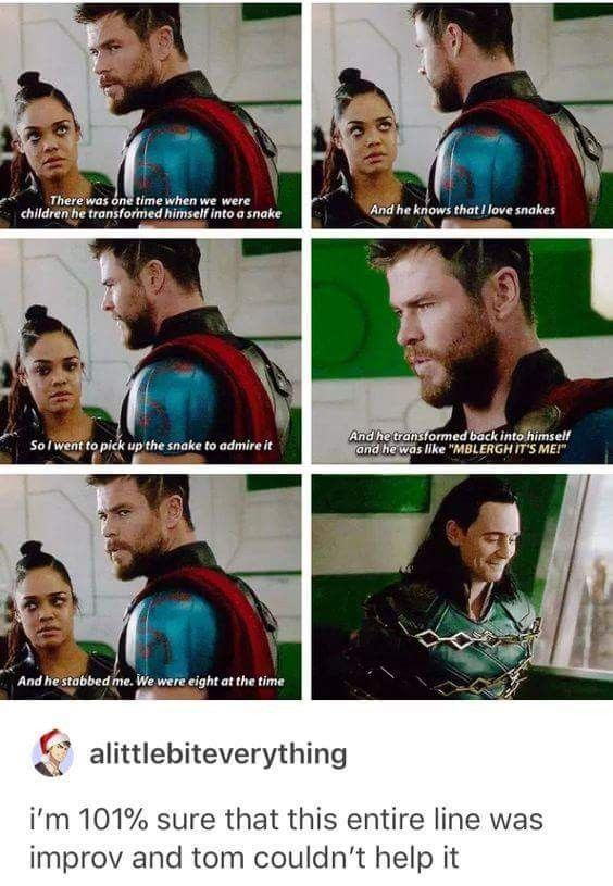 I was unsure about the difference in tone from the first 2 films and Ragnarok, but it really is great!