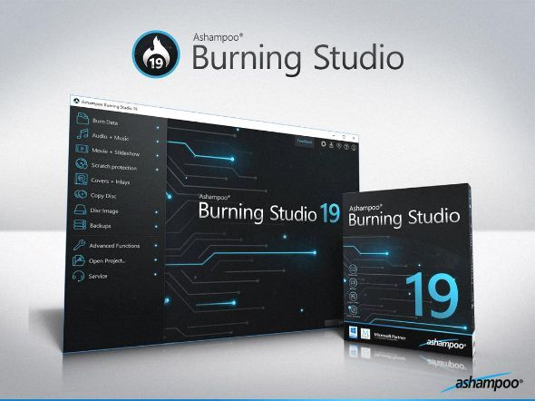 Ashampoo® Burning Studio 19 Mix Pinterest Studio