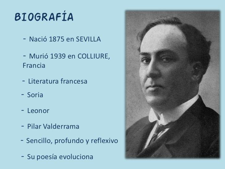 Breve Biografia De Este Autor De La Generacion Del 98 Generacion Del 98 Biografia Literatura
