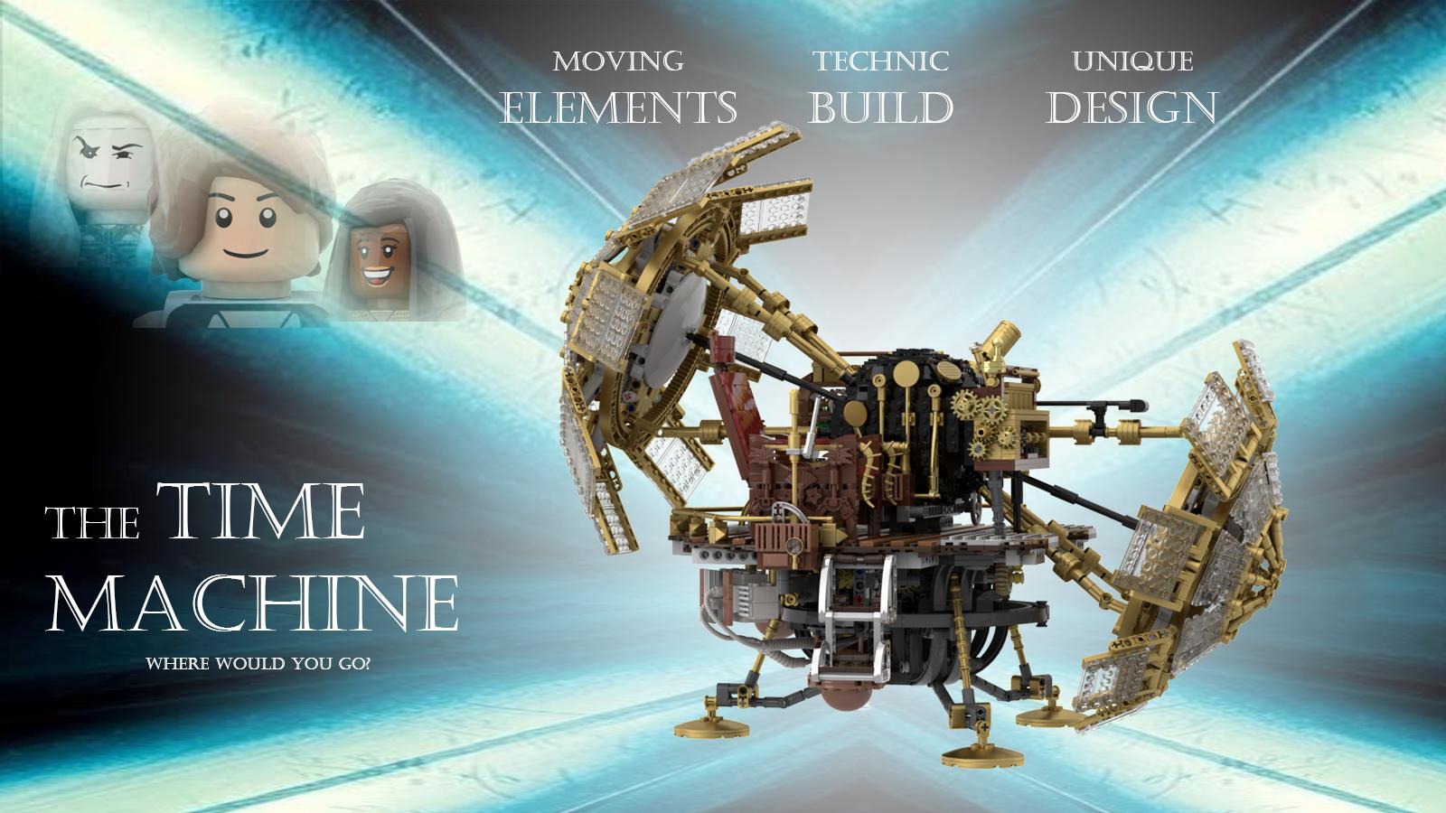 The Time Machine The Time Machine Time Travel Machine Machine Design