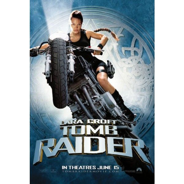 Tomb Raider Lara Croft Movie Poster Lara Croft Movies Tomb
