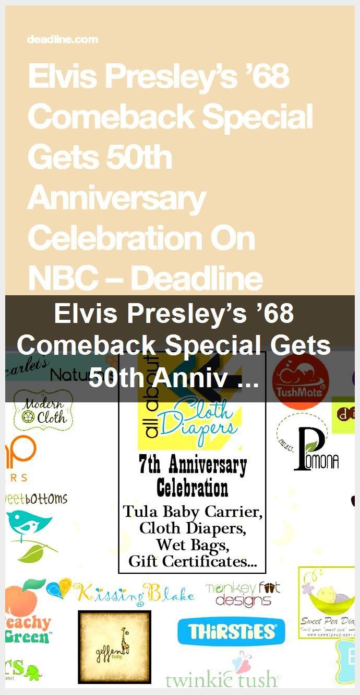 Elvis Presley's '68 Comeback Special Gets 50th Anniversary Celebration On NBC,  #50th #anniversary #celebration #comeback #Elvis #NBC #Presleys #special