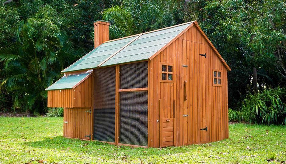 The Mansion™ Walk In Chicken Coop - Designed in Australia ...