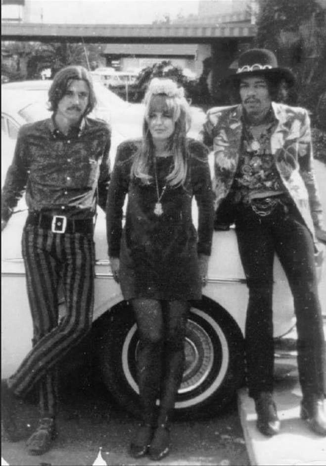 Jimi Hendrix and friends