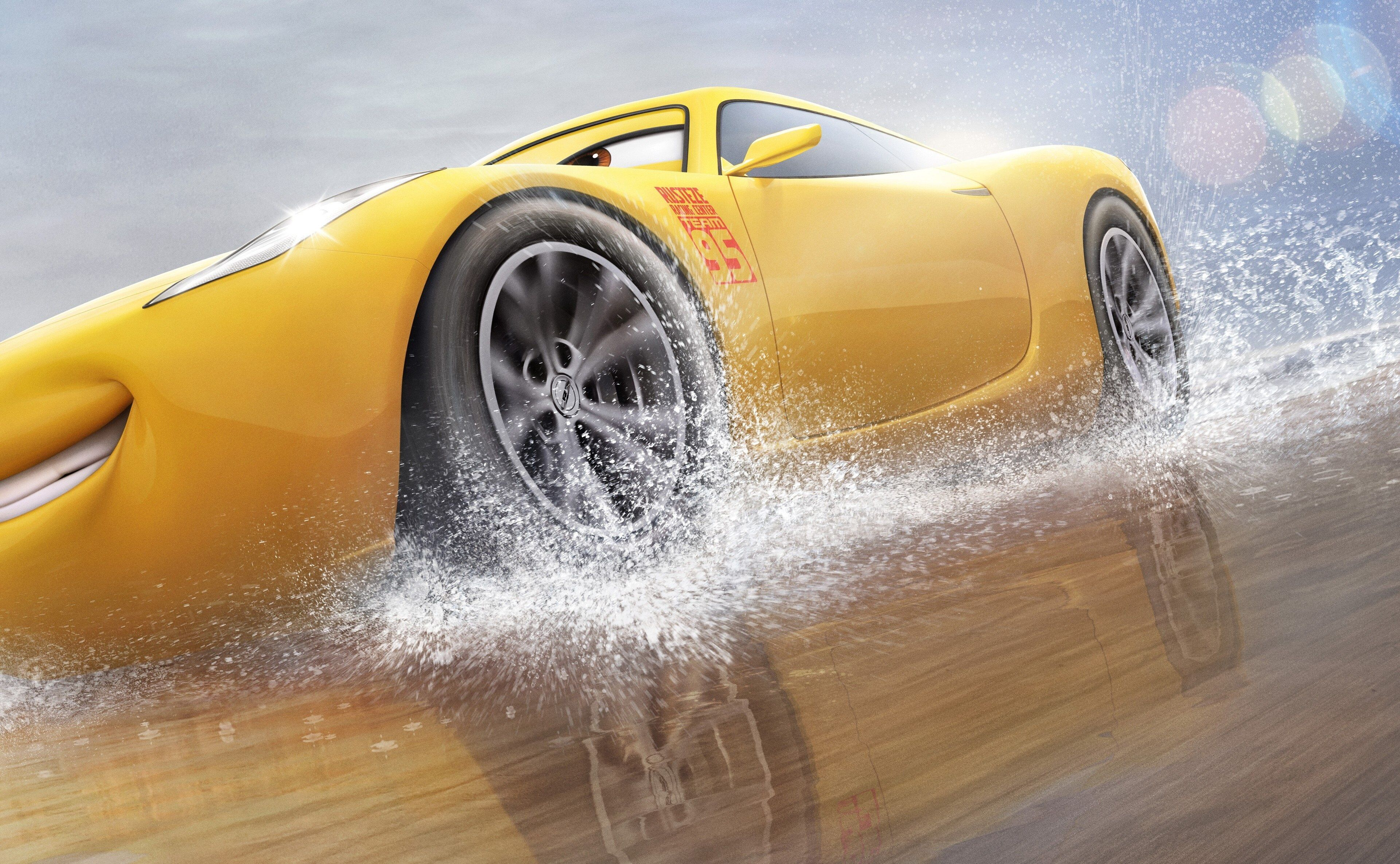 3840x2370 Cars 3 4k Desktop Wallpaper Hd Cruz Ramirez Disney Cars Wallpaper Cars Movie