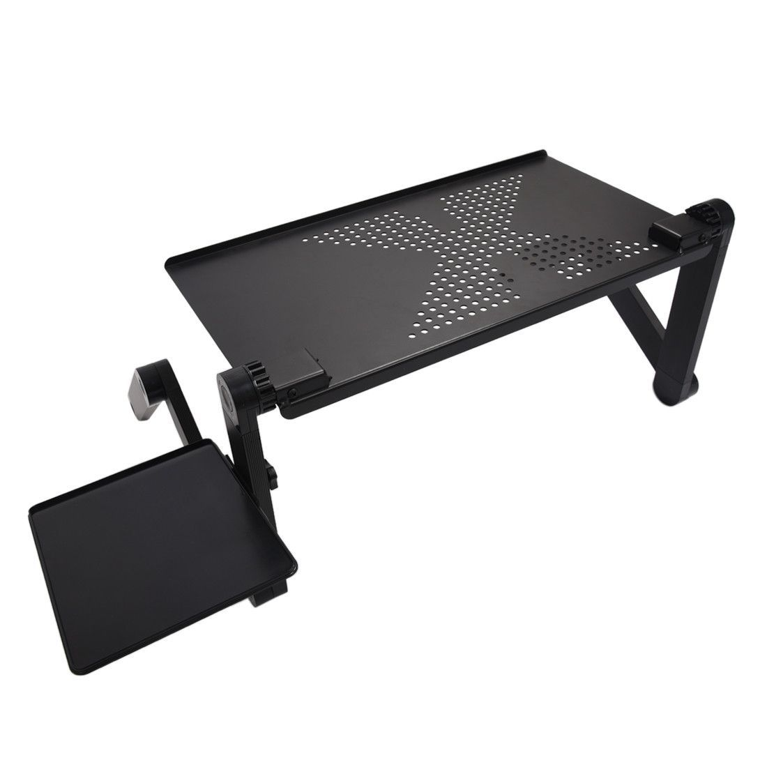 Adjustable multi functional ergonomic mobile laptop table stand adjustable multi functional ergonomic mobile laptop table stand for bed portable sofa folding table foldable notebook geotapseo Gallery