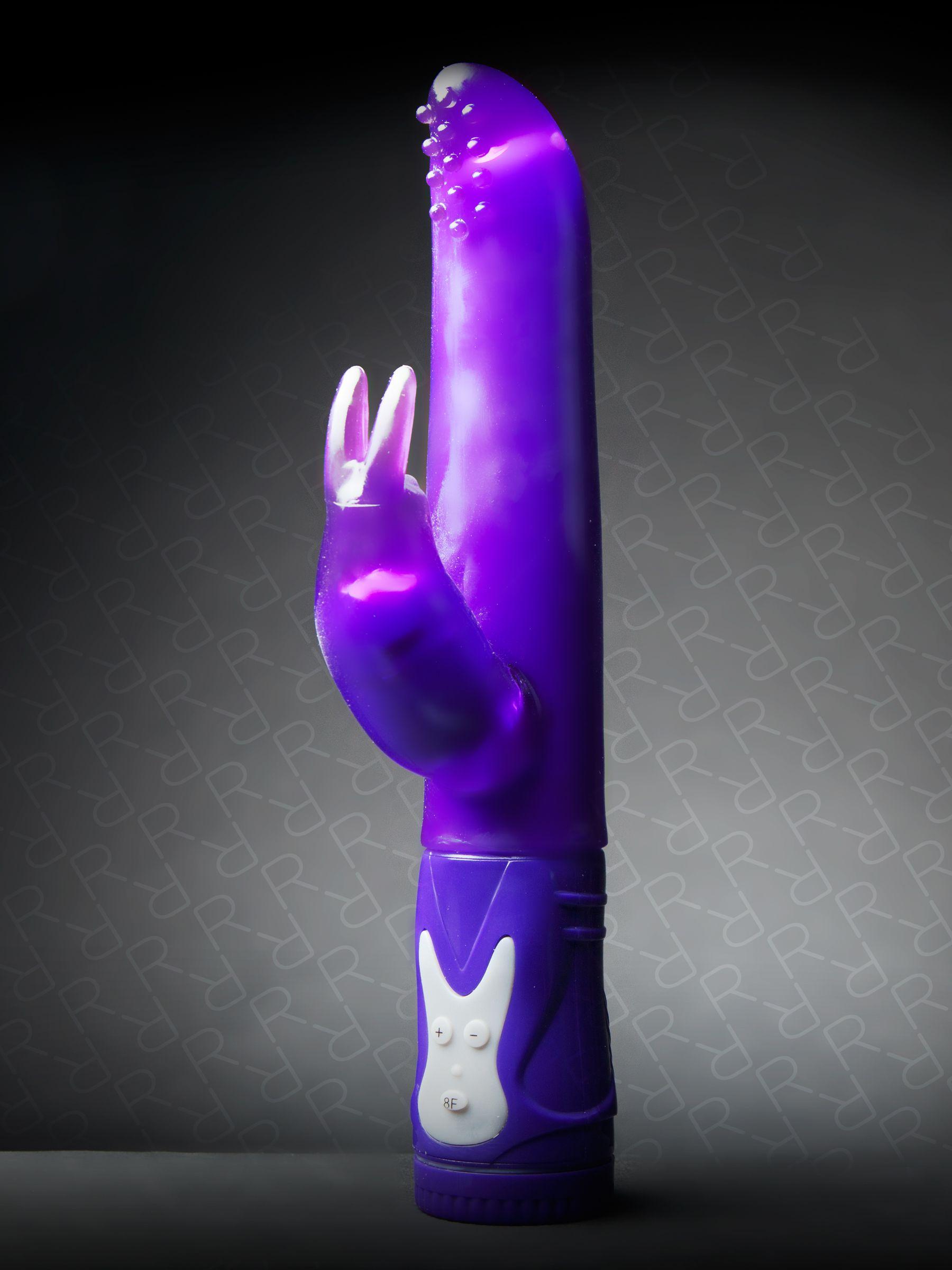 Vibrator Rampant Rabbit The Little Shaking One Purple Ann Summers Toys