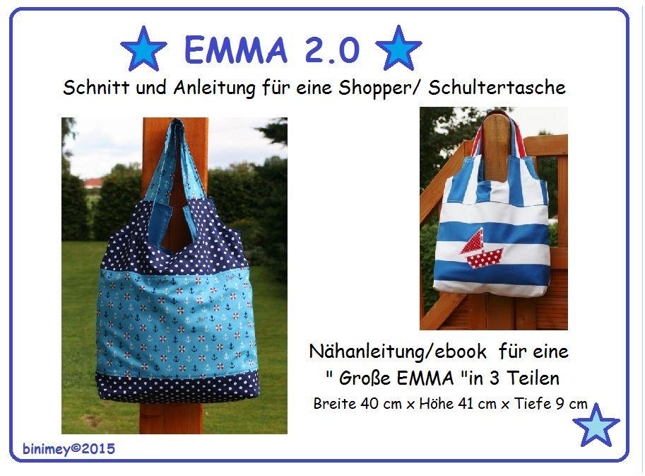 binimey: EMMA 2.0 - Gratis ebook Schopper   Nähen Utensilos, Deko ...