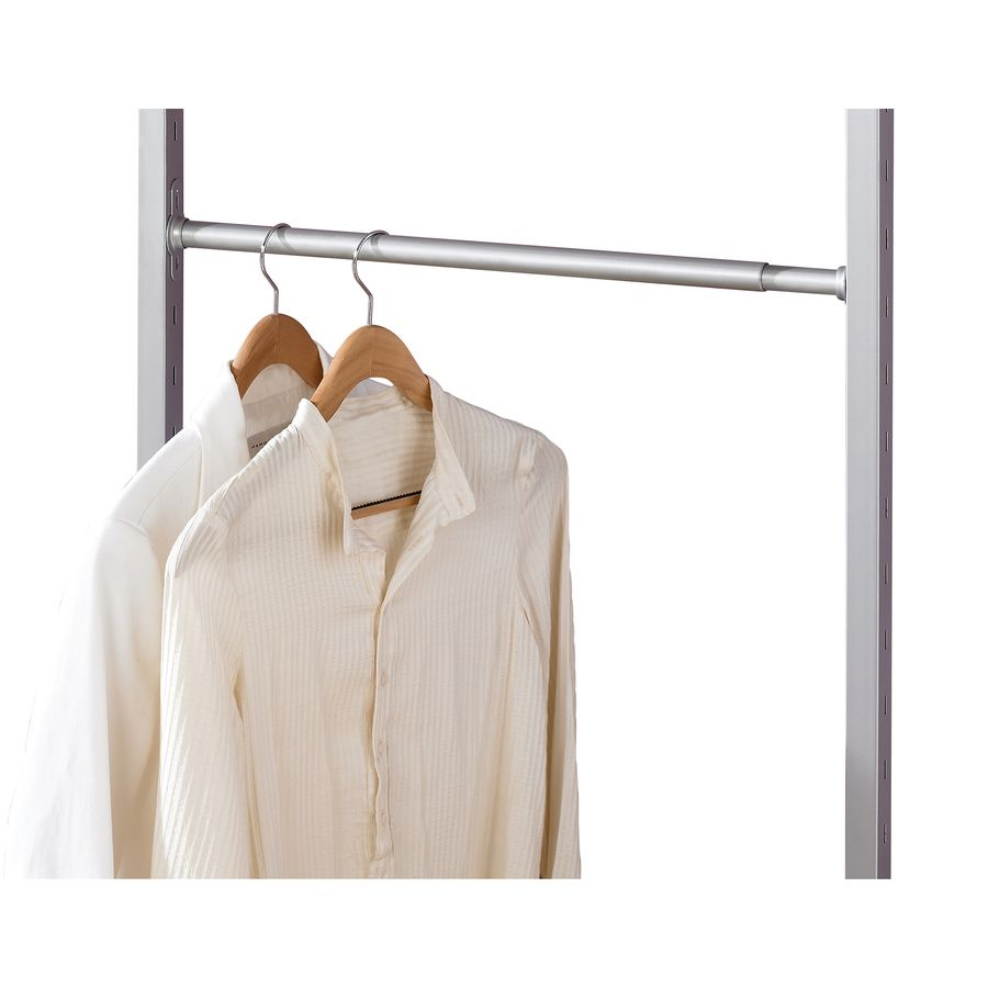 Lowes Closet Rod Gorgeous $15 Shop Spacepro 52In L X 1In H X 1In W Extendable Metal Closet