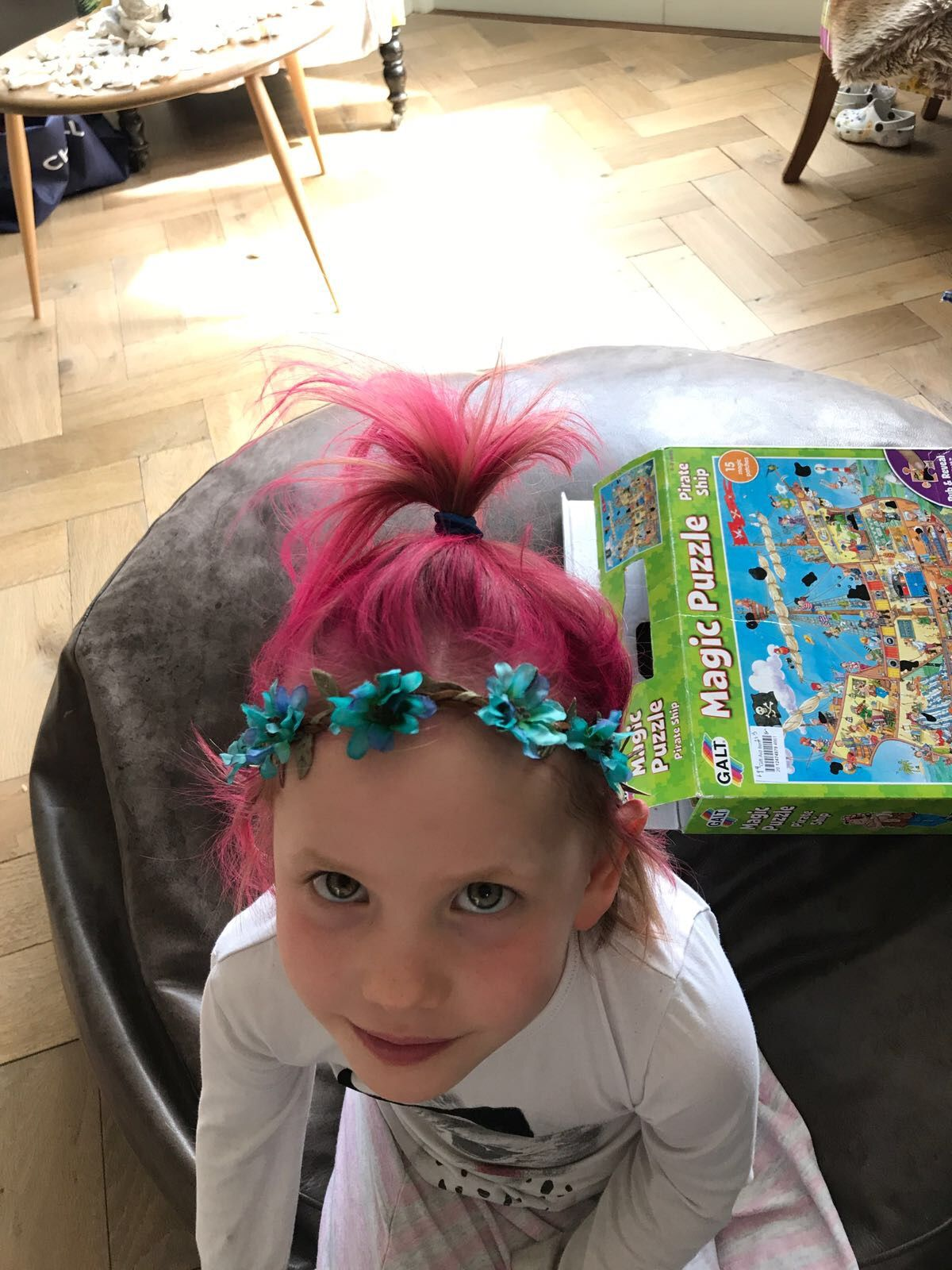 Princess Poppy Trolls Hair Idea To Match Dress Hairstyles Hair