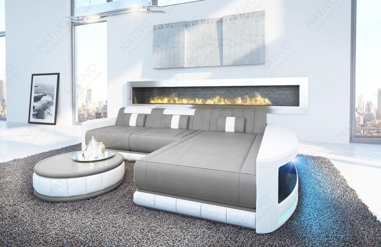 Canape Atlantis Mini Ac Eclairage Led Nativo Design Moderne En 2020 Avec Images Canape Design Meuble Design Mobilier De Salon
