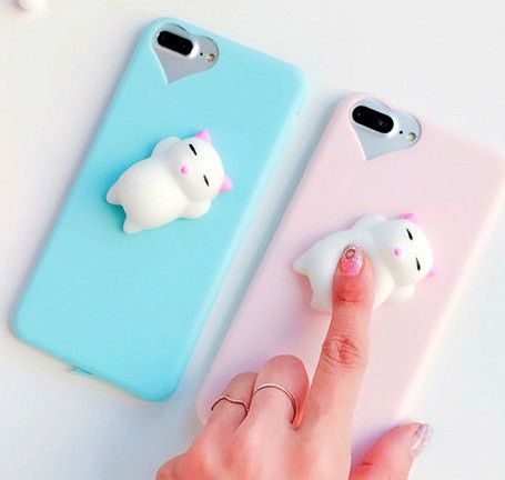 695c065eee Squishy Mobile Phone Case 3D Cute Sleep Cat Phone Cover for iPhone 6s 6 6  Plus 7 7 Plus 5 5s SE Case Soft Silicone Gel Shell on Aliexpress.com |  Alibaba ...