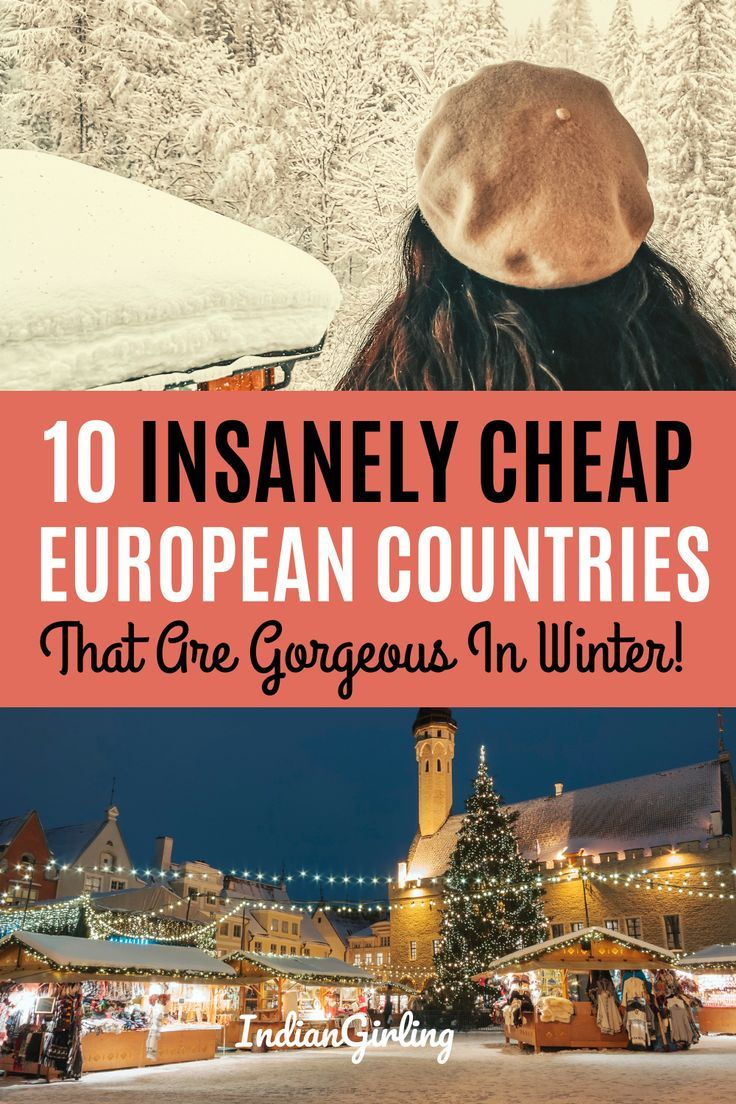 10 Insanely Cheap And Gorgeous Europe Winter Destinations Europe Winter Travel Europe Travel Travel