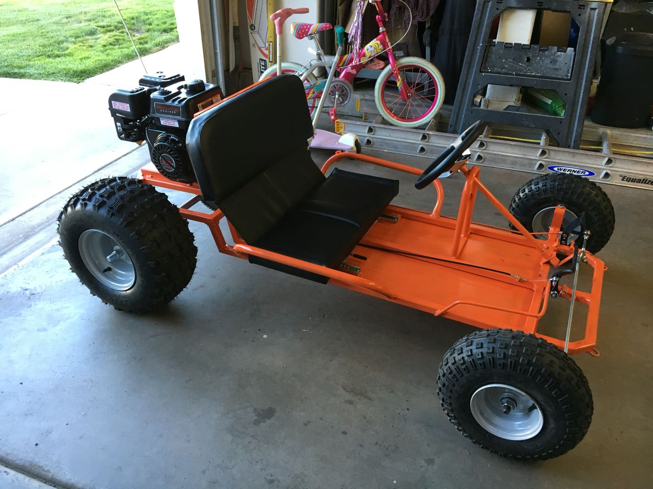 Watch additionally 141878416584 together with What Is The Best Solid Axle Rear Suspension as well 2015 Gsi Gas Powered Drift Trike Tricycle Bike Fat Ryder Motoriz 29550 additionally Go Kart Plans. on live axle go cart