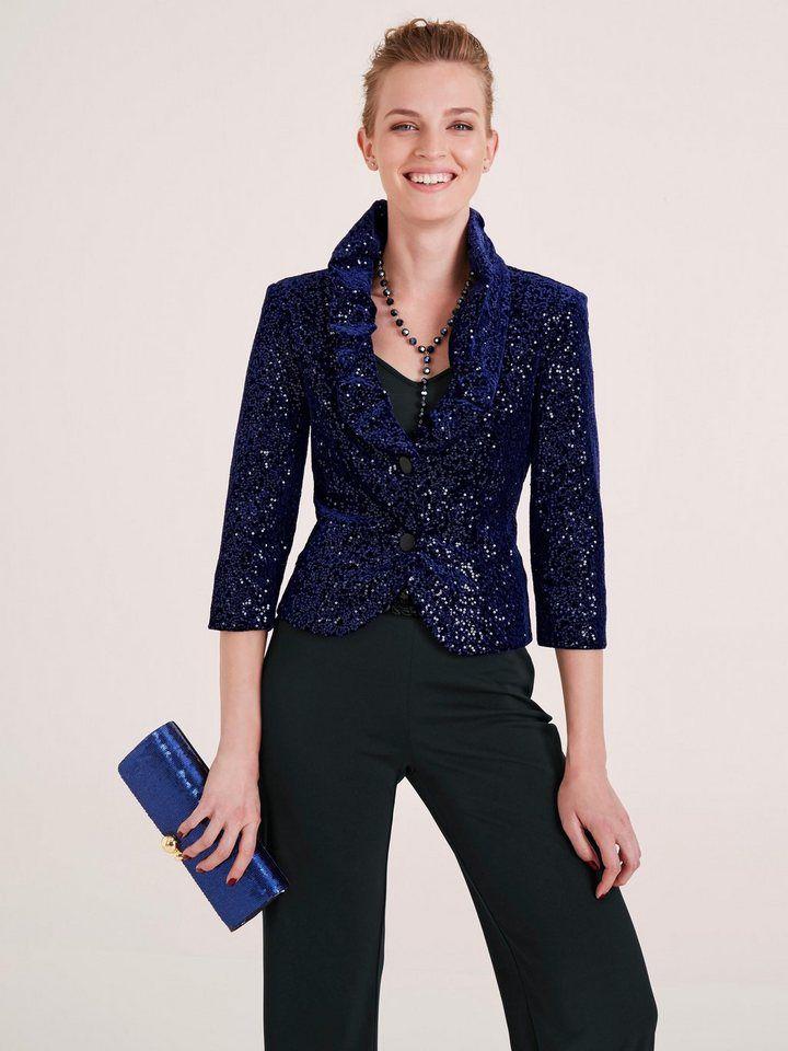 brand new super cheap entire collection heine TIMELESS Blazer Pailletten allover in 2019 | Fashion ...
