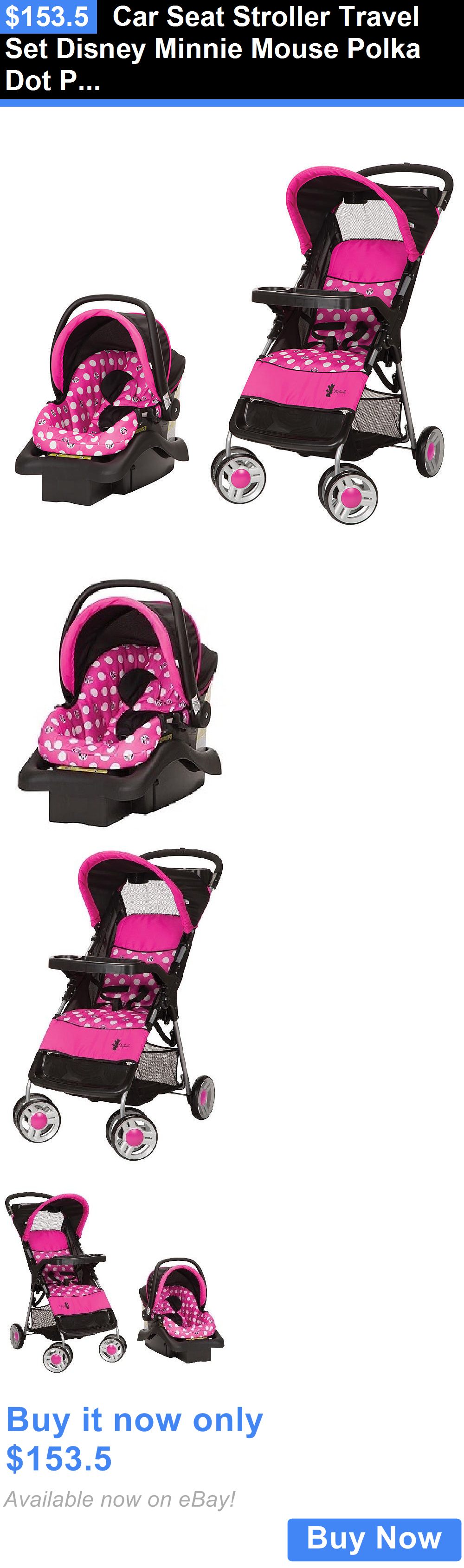 baby kid stuff Car Seat Stroller Travel Set Disney Minnie
