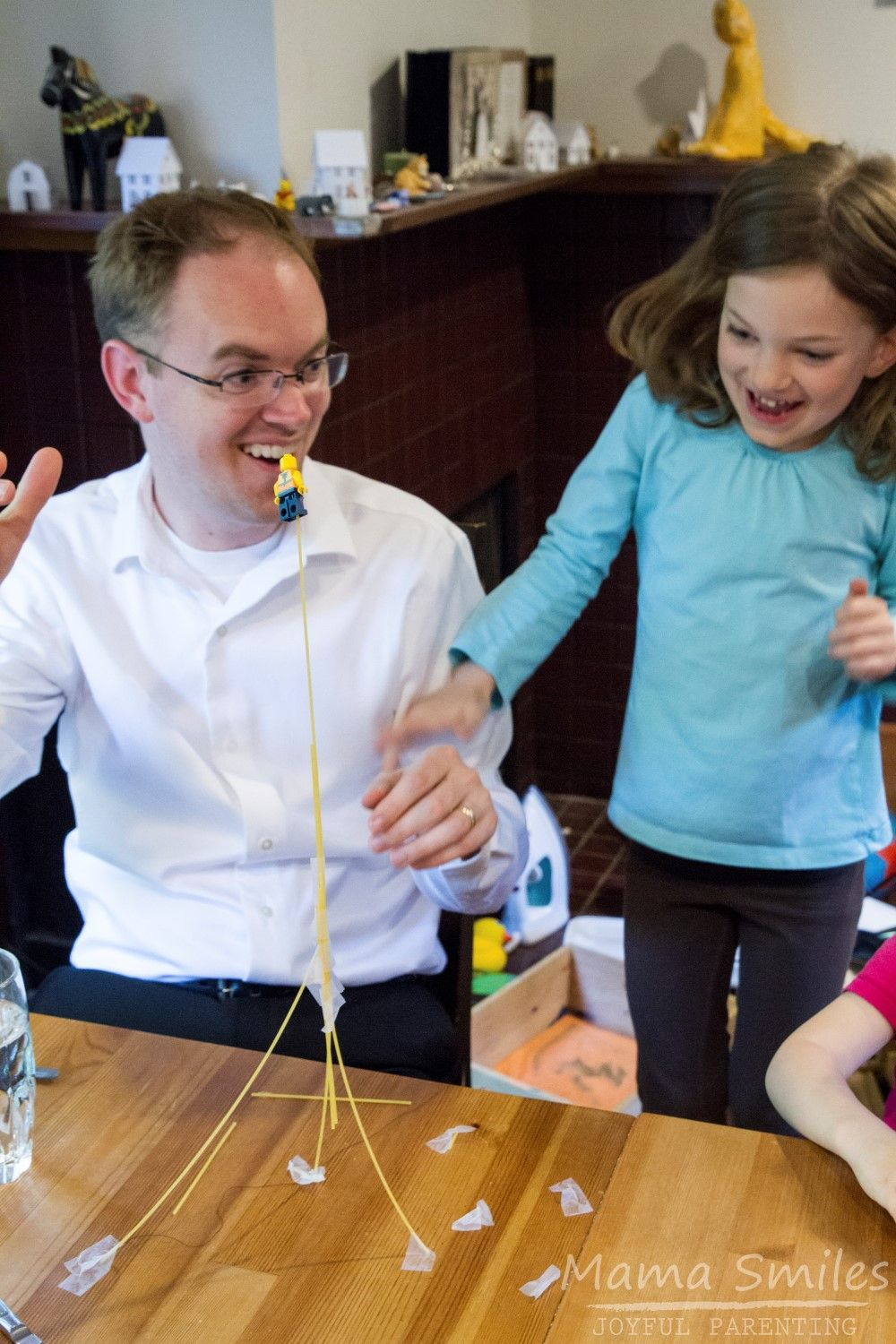 I Love This Fun Twist On The Traditional Spaghetti Tower STEM Challenge For Kids Via Mamasmiles