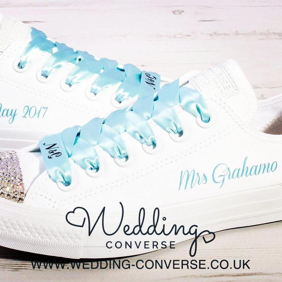 Stunning Tiffany Blue Inspired Wedding Converse Looking For