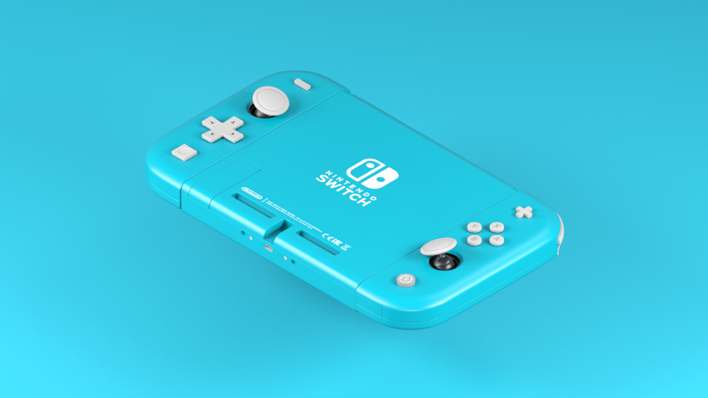 Nintendo Switch Colors On Behance Motion Design Nintendo Switch Motion