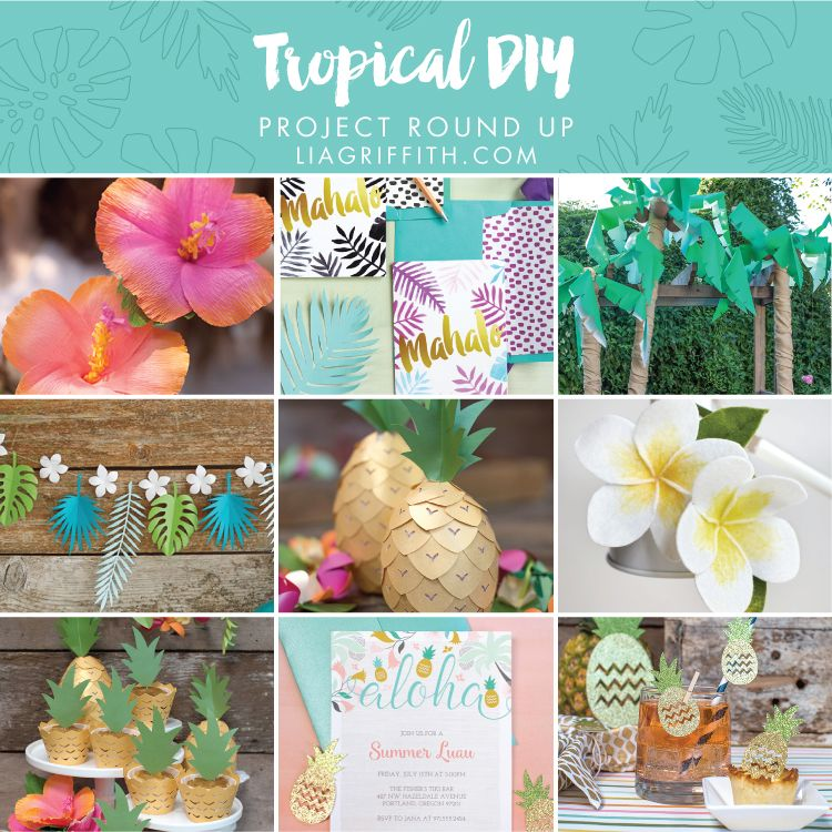 Tropical Diy Projects For Home Or Party Decor Diy House Projects