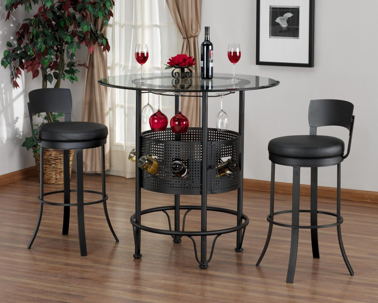 bar table and stools for small kitchen     johndiehl Kitchen Table Bistro Set Gray kitchen bistro table set