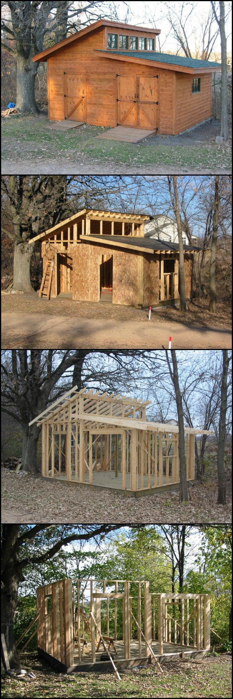 shed backyardshed shedplans How to Build The