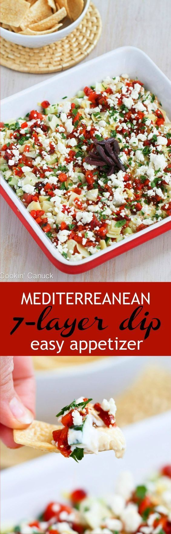 Mediterranean 7 Layer Dip Recipe #7layerdip This Mediterranean 7-Layer Dip Recipe is a fresh and healthy take on a classic appetizer. It will be a hit at your next party! 49 calories and 1 Weight Watchers Freestyle SP | Vegetarian | For A Crowd | Without Guacamole | Classic | Super Bowl | Tailgating | Low Calories #7layerdip #mediterranean #weightwatchers #7layerdip Mediterranean 7 Layer Dip Recipe #7layerdip This Mediterranean 7-Layer Dip Recipe is a fresh and healthy take on a classic appetize #7layerdip