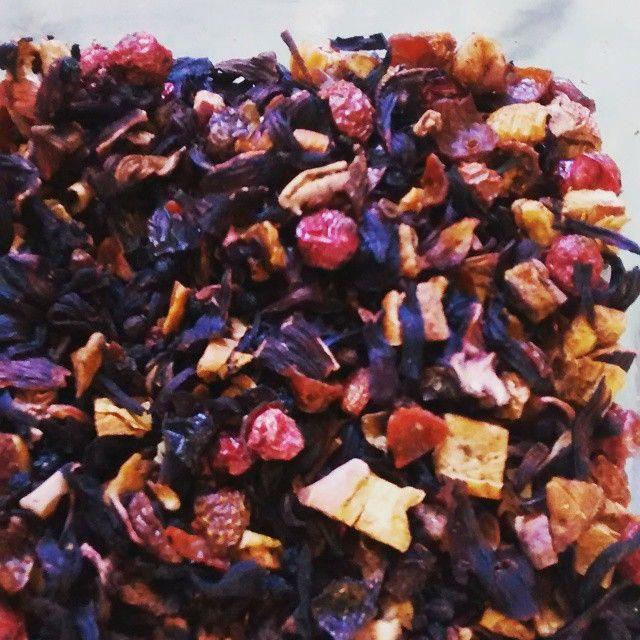 Enjoying one of my favourite teas - Mixed Berries. #yum #tea #fruity #healthy #CoffeeEtc #teatime