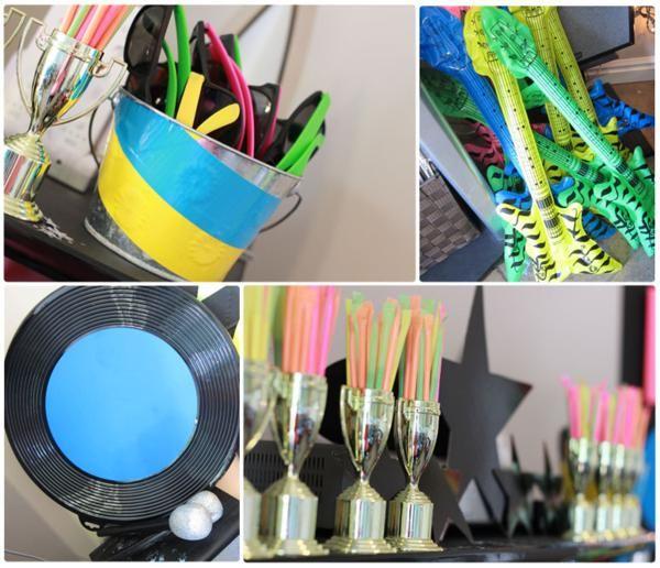 Accesorios y decorados para una fiesta a os 80 for Decoracion 80 anos ipuc
