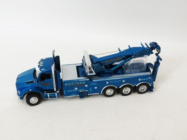 1 50 Kenworth T880 Century Rotator Wrecker Western Distributing By 1st Gear Model Truck Kits Diecast Trucks Toy Trucks