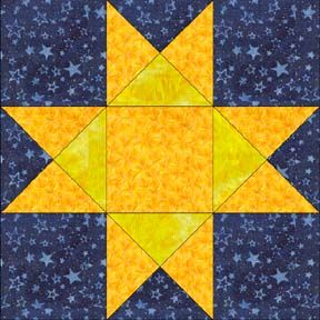 Ohio Star 12 And 6 At Bottom Finished Sizes Barn Quilts Barn Quilt Designs Star Quilt Blocks