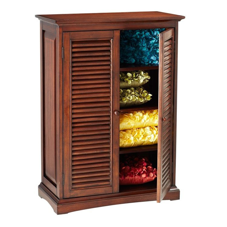 Plantation Mahogany Brown Storage Cabinet | Our Home ...