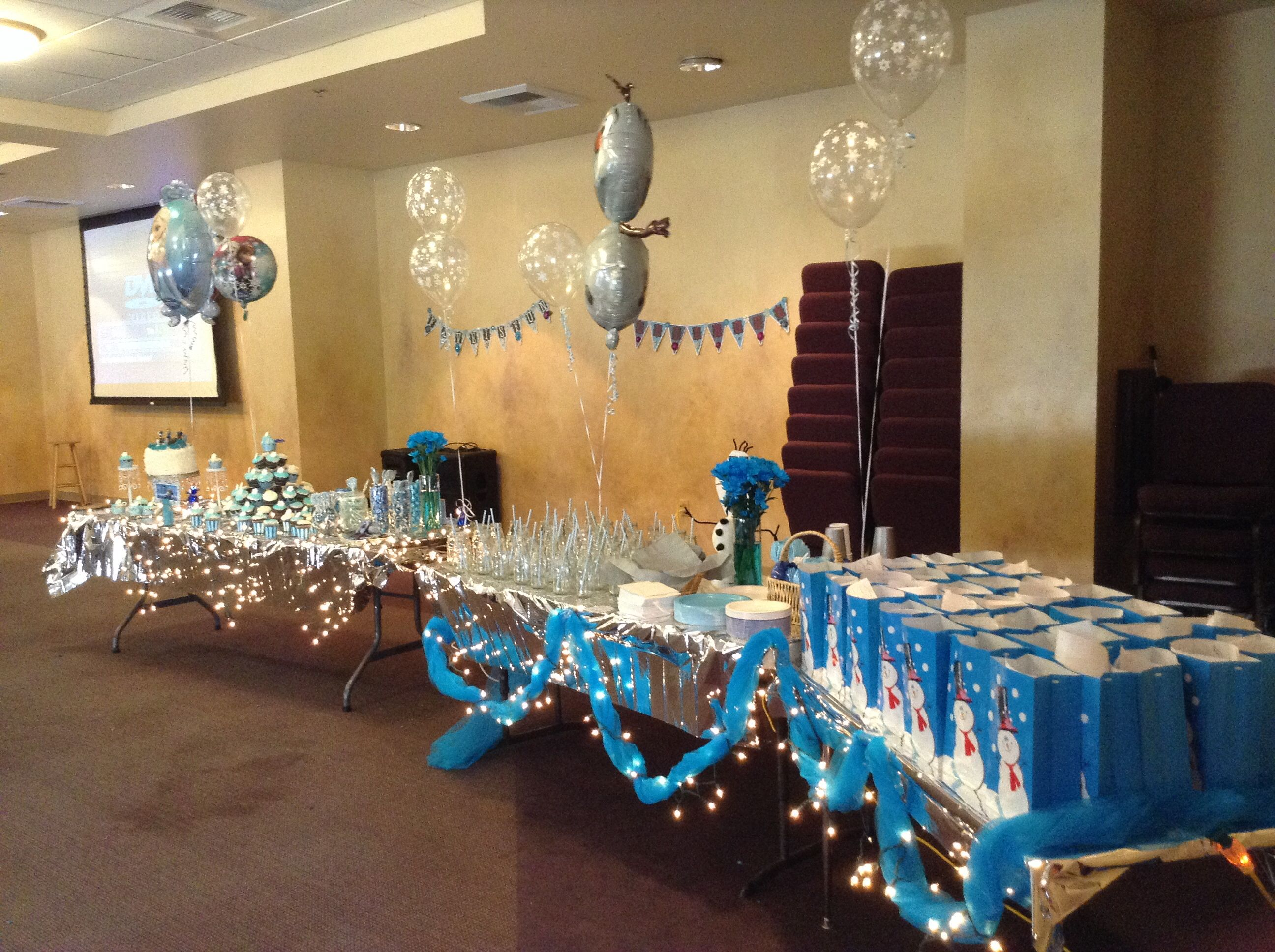 A view of the party tables :)