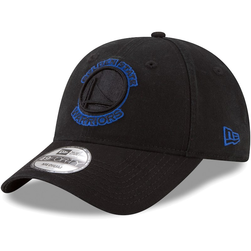 0dfa38d4 Golden State Warriors New Era Core Pop 49FORTY Fitted Hat – Black ...