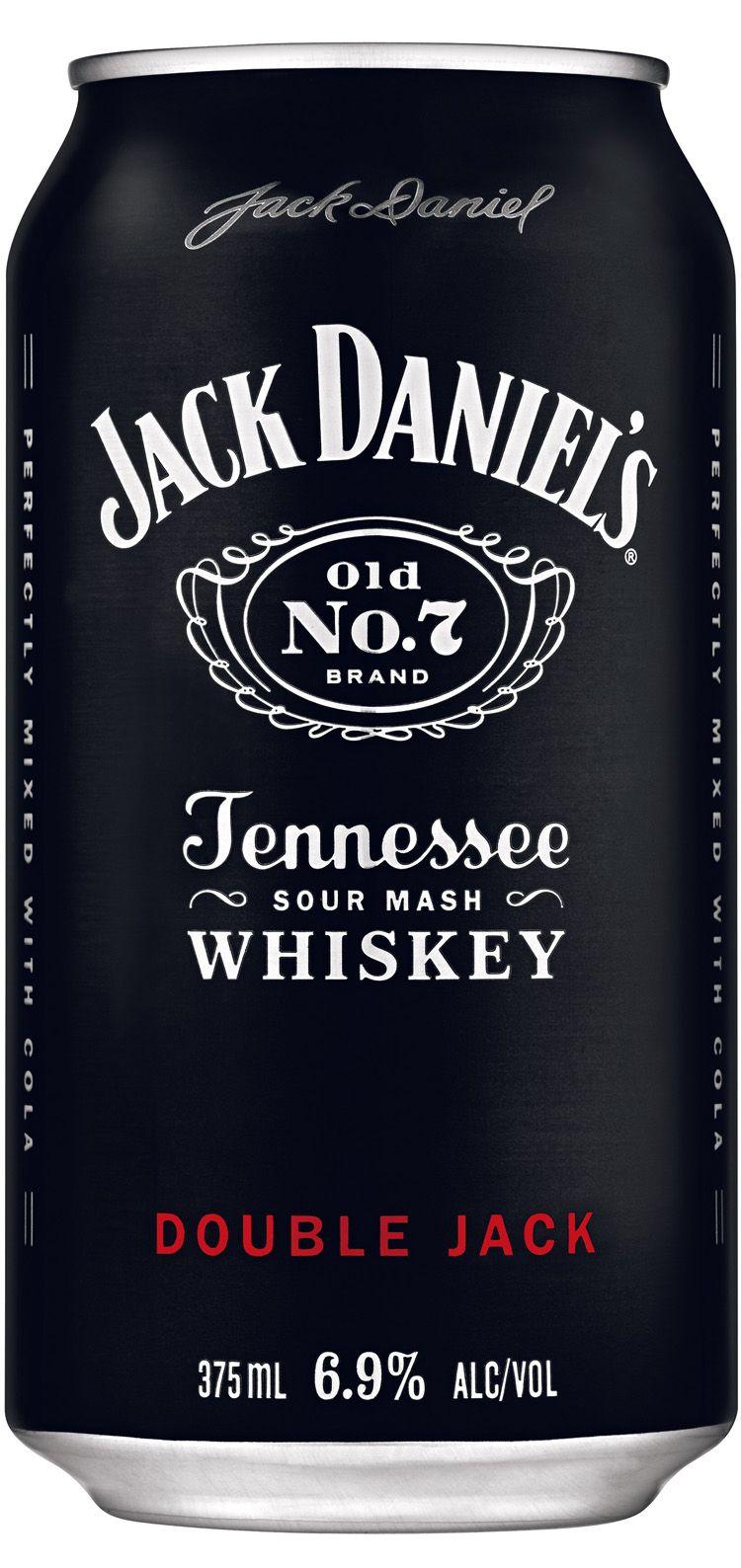Jack Daniels Double Jack Can   Jack Daniels   Pinterest   Getränke ...