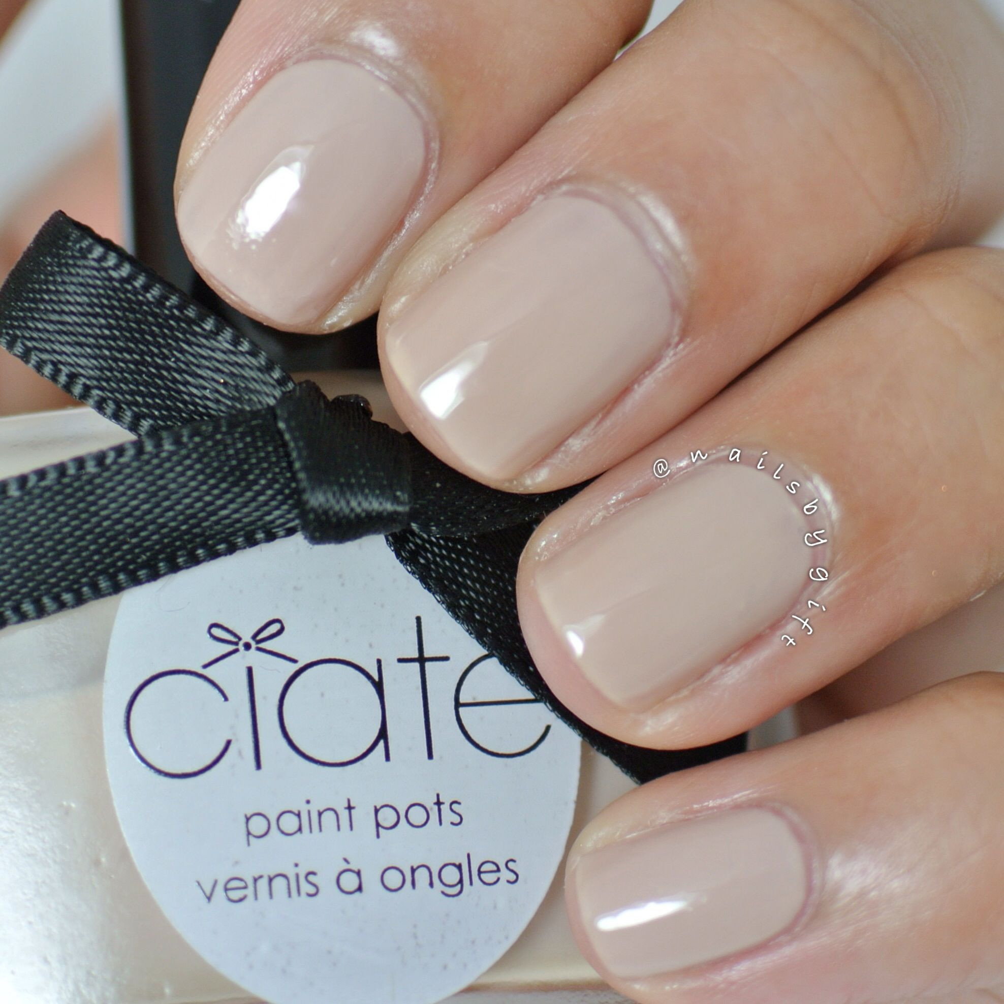 Ciate Nail Polish Collection Christmas: Ciate Cookies Cream Review + Swatch @nailsbygift