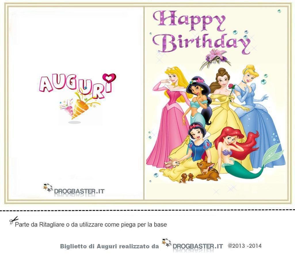 Raccolta Di Bigliettini Di Auguri Per Il Compleanno Da Stampare