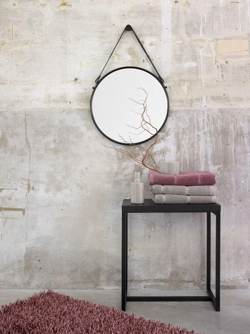 Runder Wandspiegel Mit Band Thymo Wandspiegel Rund Wandspiegel