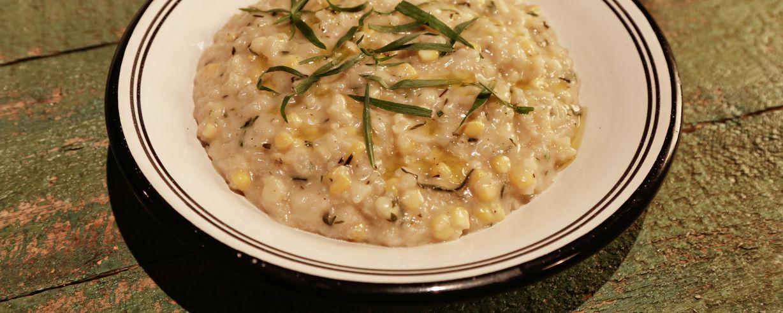 Sweet Corn and Tarragon Risotto Recipe | The Chew - ABC.com